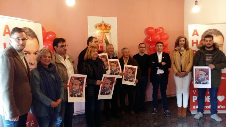 Los socialistas homenajean a los alcaldes y alcaldesas más veteranos de la Sierra de Francia. El acto tuvo lugar en Cereceda de la Sierra.