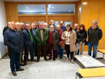 Alcaldes y concejales socialistas de la comarca de Vitigudino.