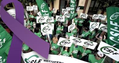 CSIF denuncia que las empresas solo cubren una baja laboral por cada 100 mujeres maltratadas.
