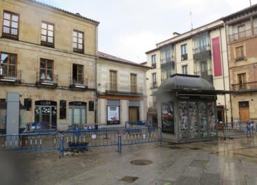 El Ayuntamiento de Salamanca ha talado los árboles que había en la Isla de la Rúa.