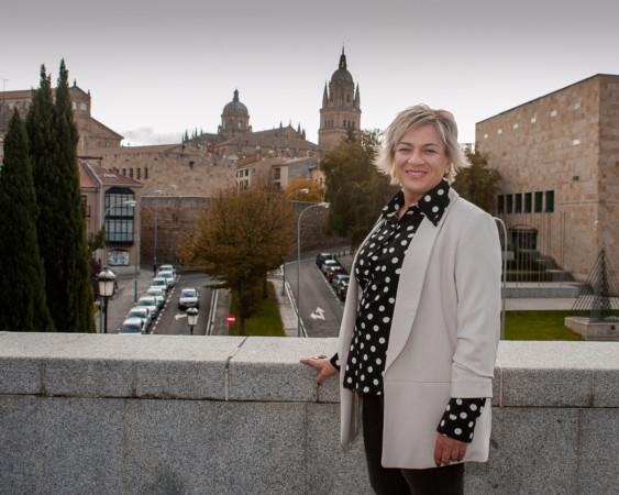 Elena Diego es la candidata socialistas por Salamanca al Senado.