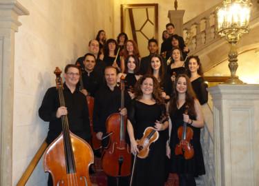La Orquesta de Cámara del Casino de Salamanca.