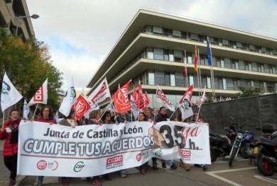 funcionarios huelga 35 horas concentracion (2)
