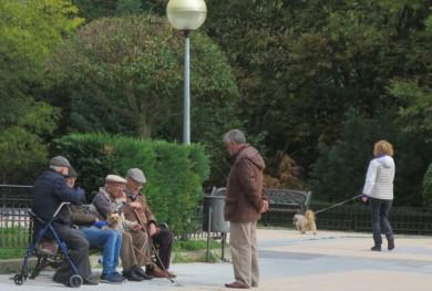 gente mayores jubilados