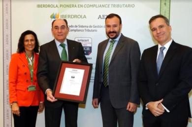 iberdrola galan certificado