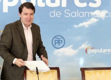 David Arranz / ICAL El presidente del Partido Popular de Castilla y León, Alfonso Fernández Mañueco,.