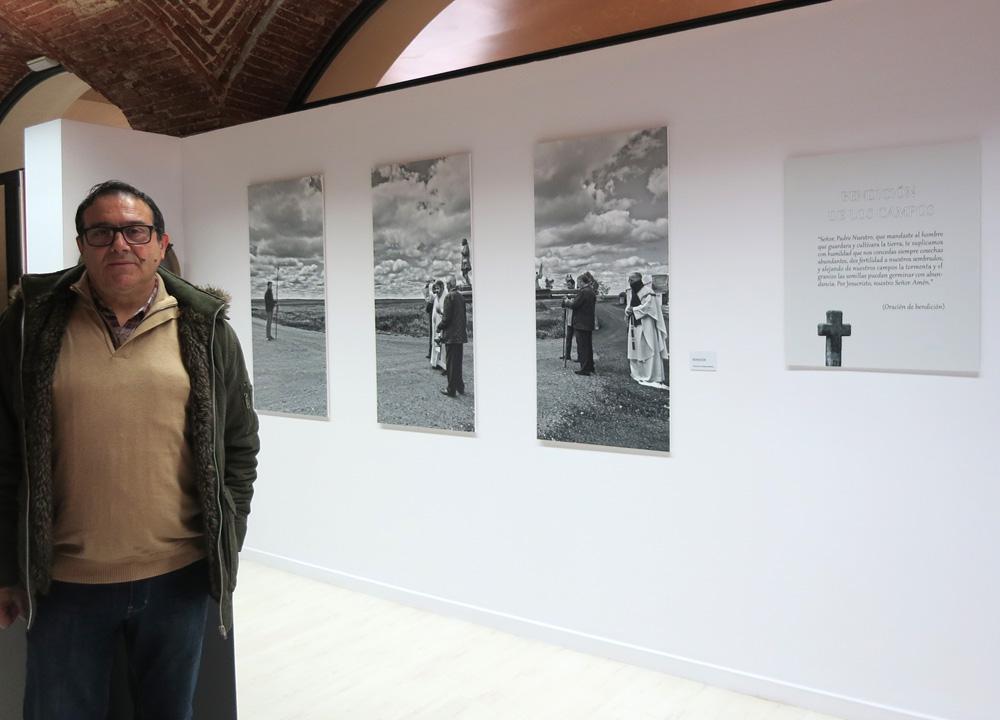 El fotógrafo salmantino Ángel Centeno.