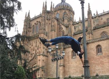 Juan Francisco Rodríguez, artista de Circo, dice de Salamanca que es una ciudad mágica.