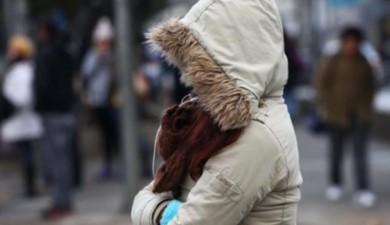 Llega un frente frío.