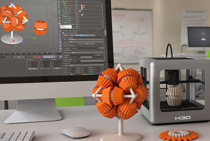 Mi pequeña Frábrica, del grupo Ecotisa, boutique creativa de impresión 3D, estará instalada en el CC El Tomres hasta el 21 de enero. Foto. Mi pequeña Fábrica.