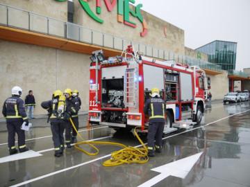 Simulacro de evacuación en El Tormes
