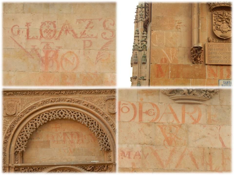 Vítores en la Catedral Nueva (foto 1, posible P, único conocido de Portugal)