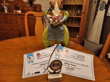 Esfinge Teatro se trae dos premios del Certamen Nacional de Teatro de Aficionados 'Villa de Fuensalida', en Toledo.