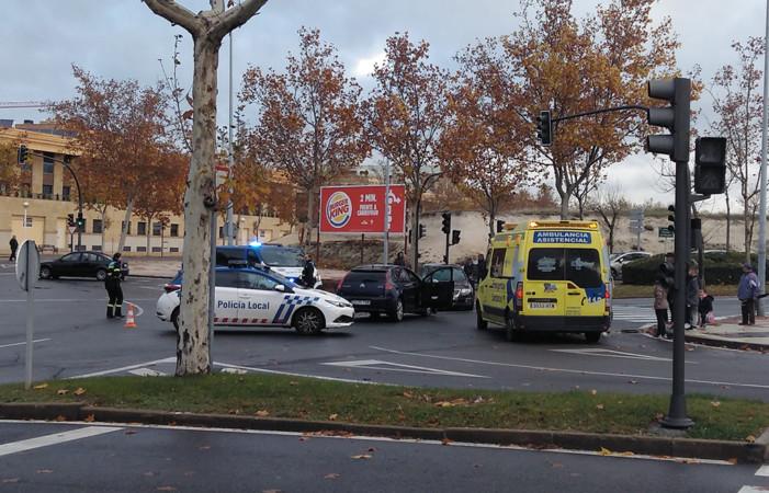 Accidente de tráfico en Salamanca.