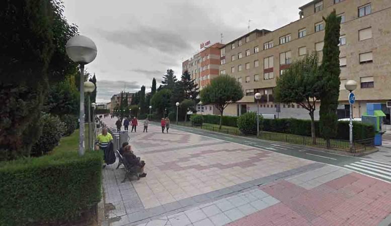 boulevard sobre via paseo san antonio