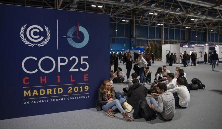 COP25 celebrada en Madrid.