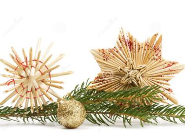 Zoes organiza un taller de estrellas navideñas hechas de paja el viernes 13 a las 17.30 horas.