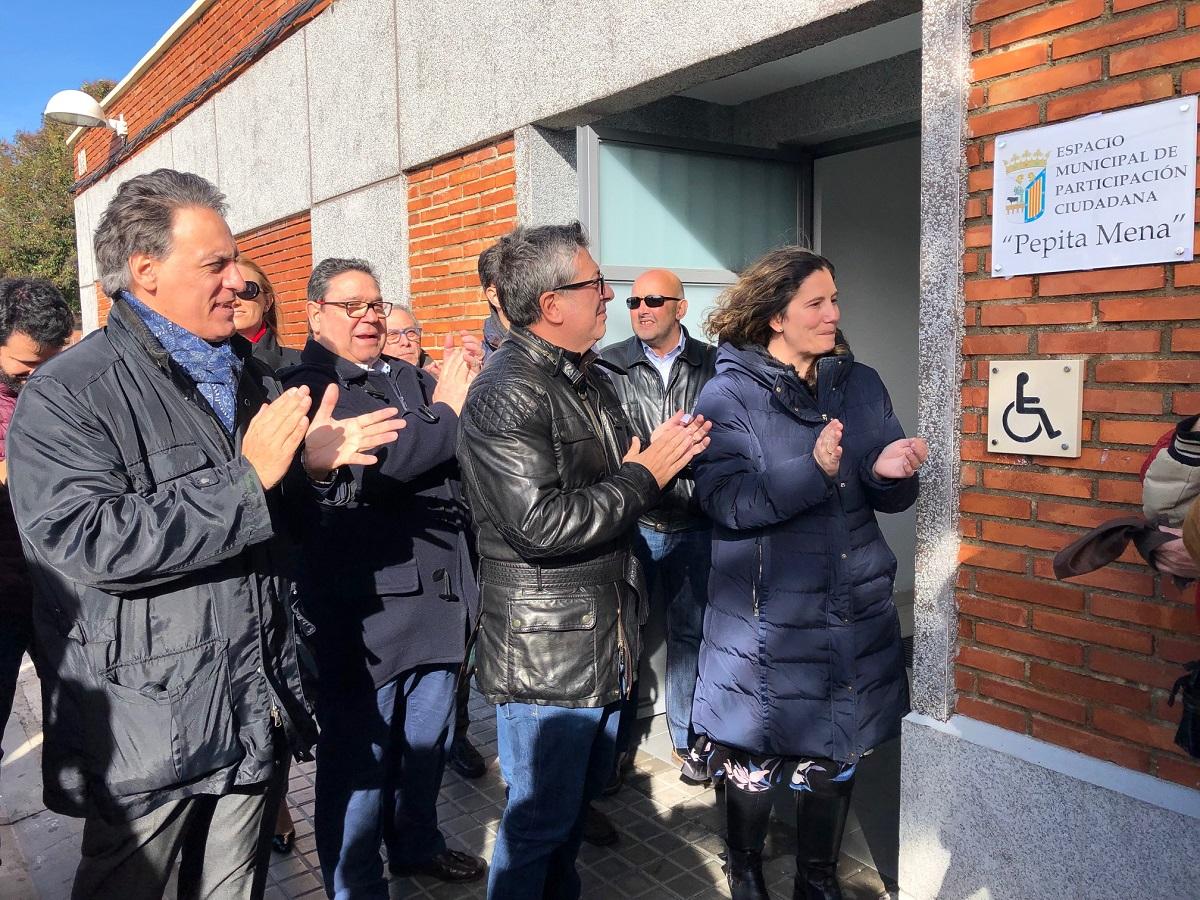 Homenaje a Pepa Mena, concejala del PSOE en Salamanca.