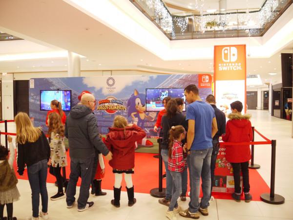 El Espacio Nintendo en El Tormes estará hasta el 8 de diciembre.