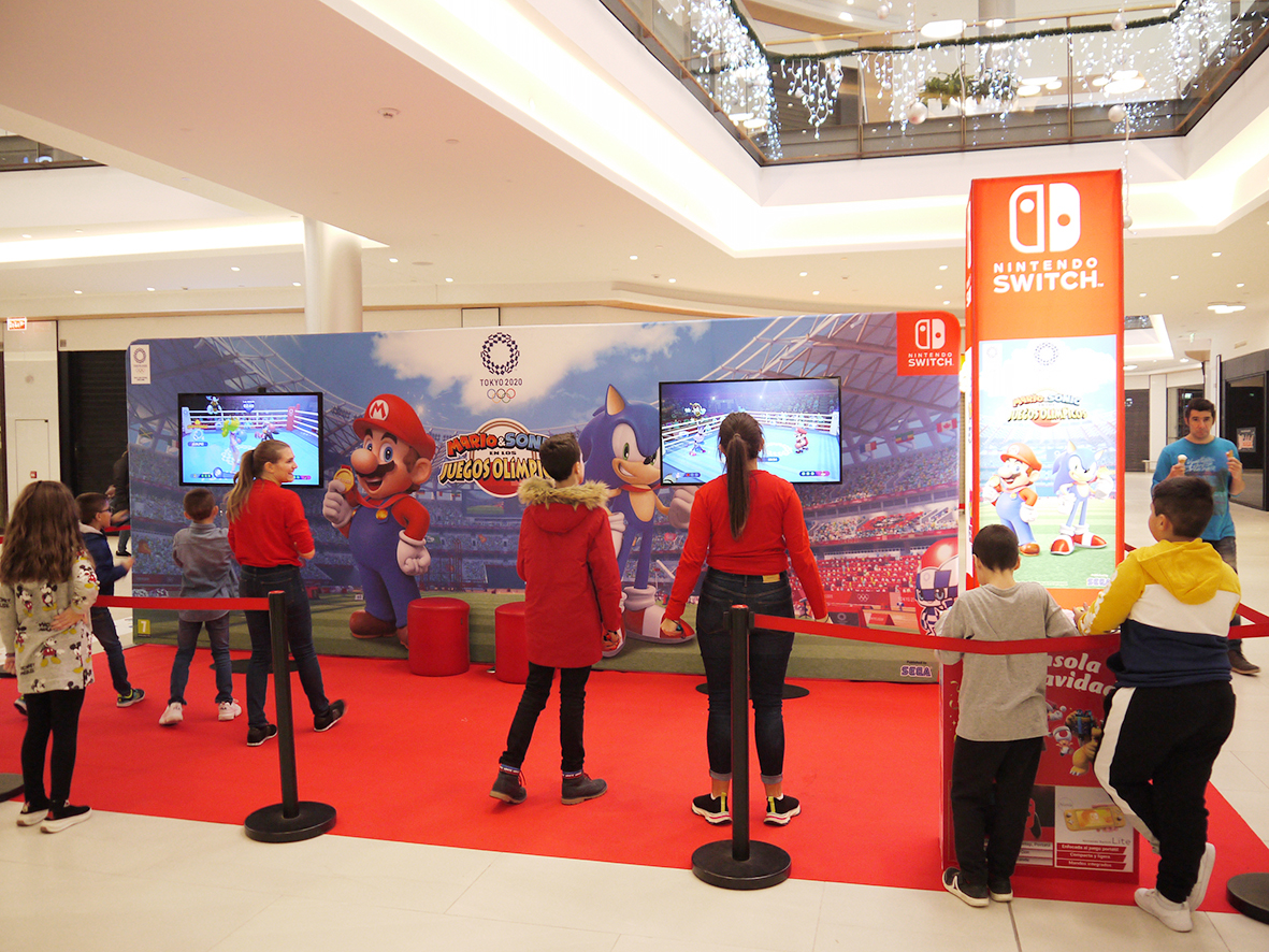 Espacio Nintendo CC El Tormes.