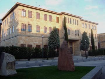 Facultad de Física. de la Universidad de Salamanca.