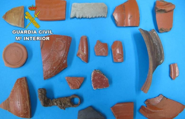 guardia civil ceramico cespedosa