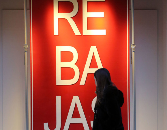 Rubén Cacho / ICAL Primer día de rebajas de invierno