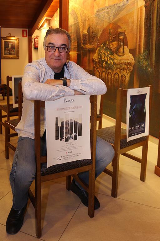 Brágimo / ICAL El director del Aguilar Film Festival de Aguilar de Campoo, Jorge Sanz