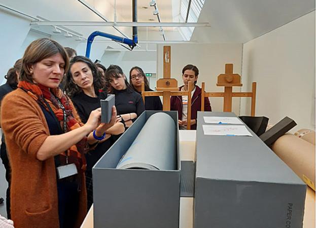 JCyL / ICAL Alumnos de Salamanca aprenden en el Rijksmuseum de Ámsterdam técnicas de conservación y restauración de bienes culturales