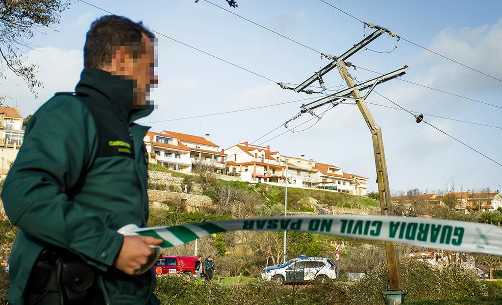 José Vicente / ICAL Las fuertes rachas de viento causan problemas en la comarca de Ciudad Rodrigo (Salamanca)