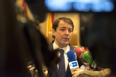 Jesús Formigo / ICAL Declaraciones del presidente de la Junta de Castilla y León, Alfonso Fernández Mañueco