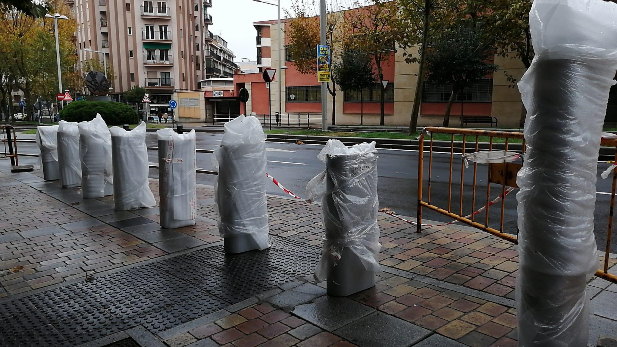 El primer tramo de la avenida de Portugal contará con un punto de préstamo de bicicletas.