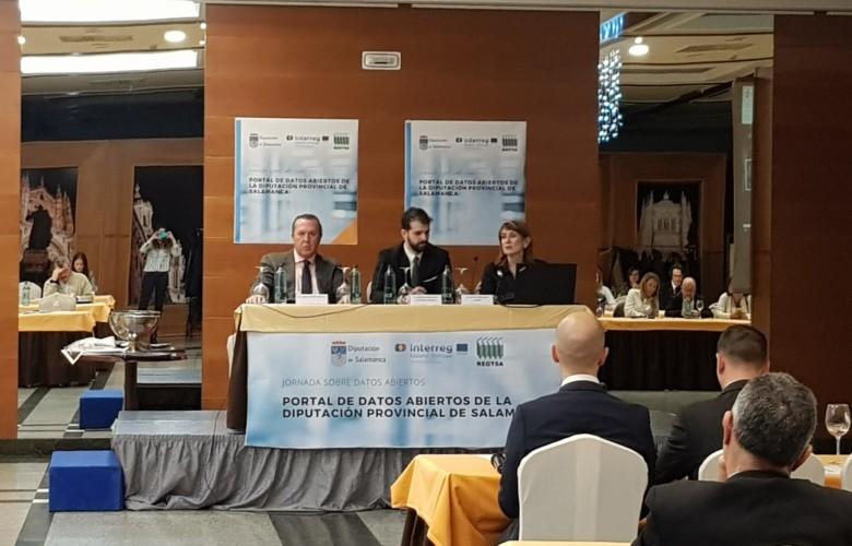 La empresa salmantina Pixel Innova ha desarrollado el Portal de Datos Abiertos para la Diputación de Salamanca y REGTSA