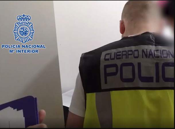 La Policía Nacional detiene en Salamanca a un pedófilo, dentro de la operación Chemosh