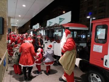Papá Noel llega este sábado a El Corte Inglés de Salamanca a las 18.00 horas.