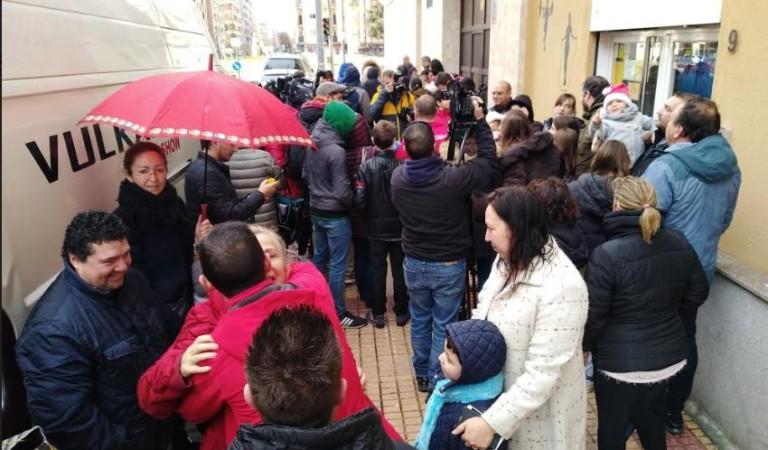 Salamanca fue agraciada con el premio 'Gordo' de la Lotería de Navidad el 22 de didiembre. Foto. Archivo.