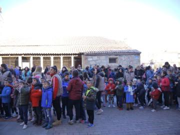Carbajosa celebra con antelación y en hermandad la Nochevieja.