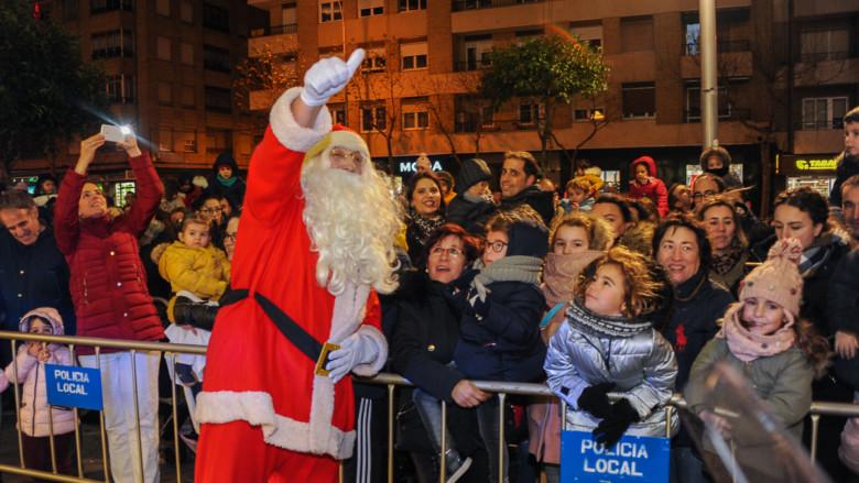 Papá Noel llega a Salamanca para recoger las cartas de los niños y niñas salmantinos.