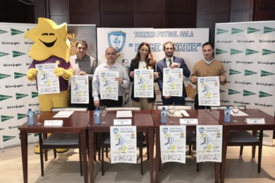 Presentación torneo Hazme Sonreír a favor de la Asociación de Enfermedades Raras de Castilla y León.