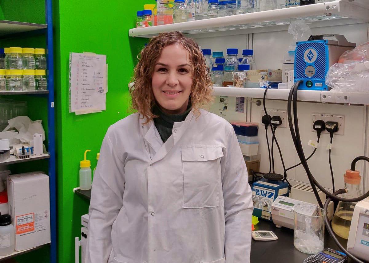 Sofía Muñoz Félix estudio Biotecnología en la Universidad de Salamanca y desde hace cinco años trabaja un centro de investigación en Londres, el Francis Crick Institute