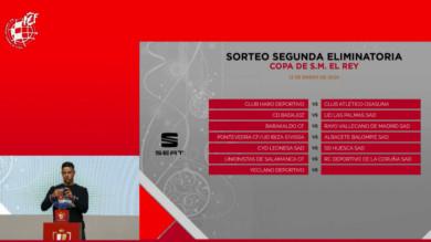 Unionistas se empareja con el Deportivo de la Coruña en la Copa del Rey.