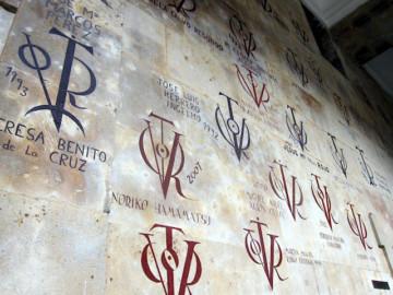 Desde 1953 los Vítores volvieron a engalanar las paredes de los edificios universitarios.