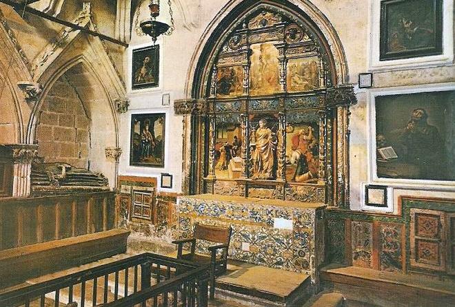 La Capilla de Santa Bárbara en la Catedral Vieja de Salamanca.
