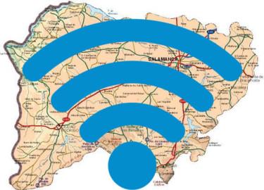 36 Ayuntamientos de Salamanca recibirán 15.000€ de ayuda de la UE para implantar la WiFi en los espacios públicos.