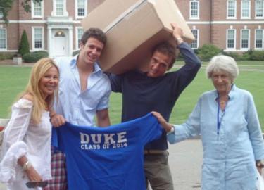 Alex Lequio comparte viviencias de su primer año en la Universidad. Foto. Instagram.