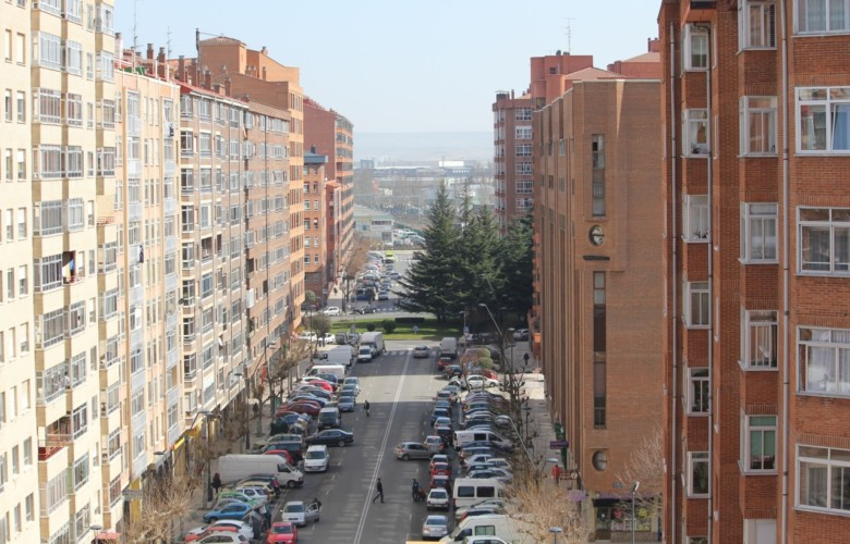 Barrio de Gamonal, Burgos. Foto. Wikipedia.