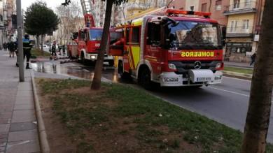 Los bomberos acudieron a un aviso a la avenida de Portugal.