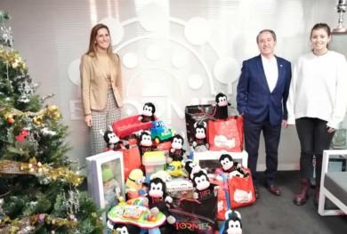 cc tormes Entrega juguetes Cruz Roja Salamanca