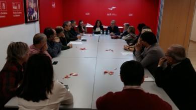 Mari Luz Martínez Seijo, secretaria Federal de Educación en la dirección del PSOE participó en una reunión sectorial organizada por el Área de Defensa del Estado del Bienestar