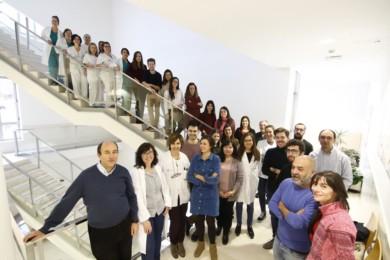Científicos del grupo de citogenética y caracterización molecular del cáncer, del Centro de Investigación del Cáncer (CIC-IBMCC, centro mixto de la Universidad de Salamanca y del Consejo Superior de Investigaciones Científicas).